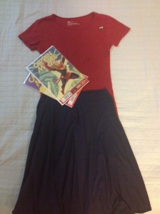 What I Wore: The Colors of Captain Marvel