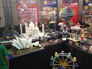 Lego Contest Display/Toy Gallery/ToyConPH 2015 Photo Credit: Kitin Miranda