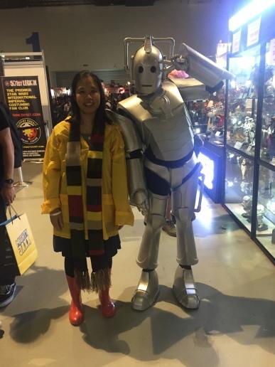 Sarah Jane Smith and Cyberman APCC2017
