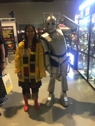Sarah Jane Smith and Cyberman APCC2017