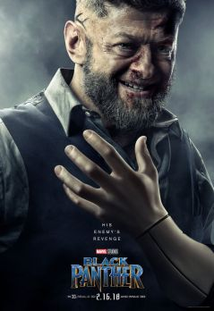 Andy Serkis as Ulysses Klaue
