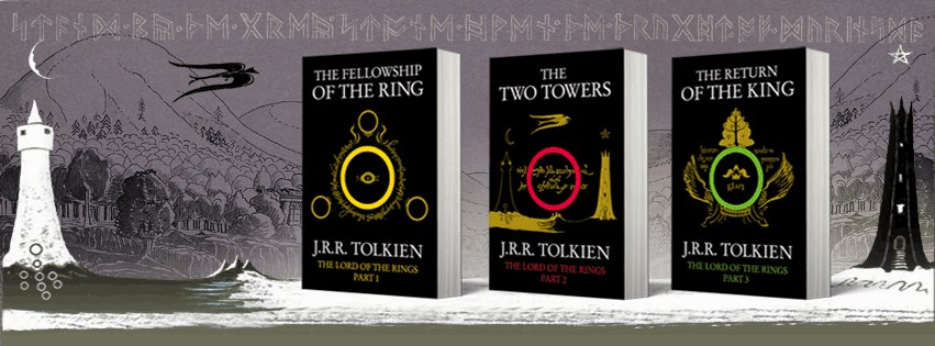 Book trilogy Lord of the Rings