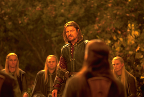 Sean Bean as Boromir