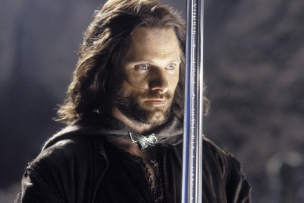 Aragorn and Anduril FB