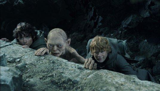Sam Frodo Gollum