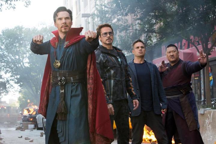 Avengers Infinity War NYC