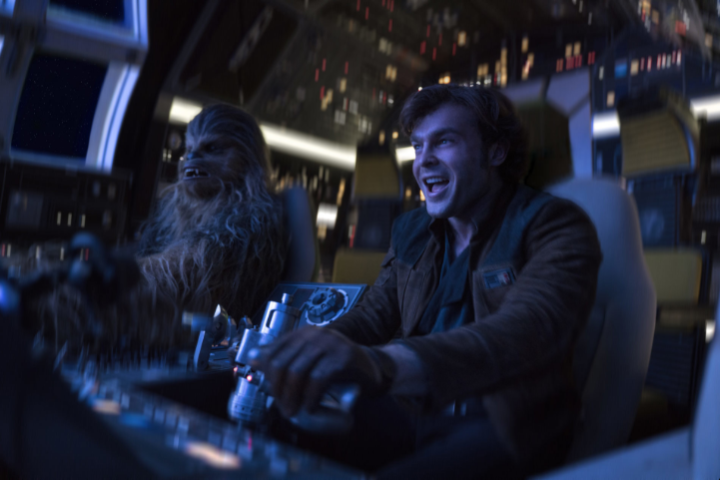 Han and Chewie Falcon