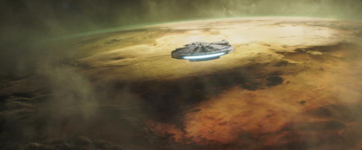 The Millenium Falcon 2
