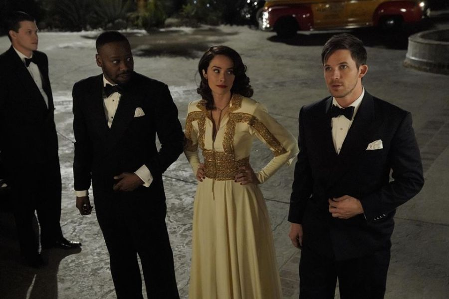 Timeless The Main Time Team old hollywood