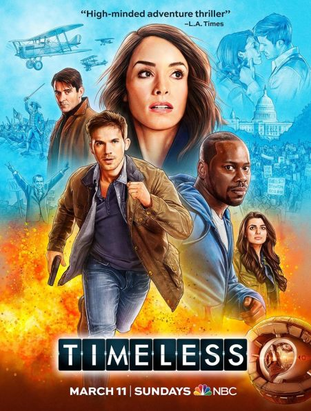 Timeless vertical poster