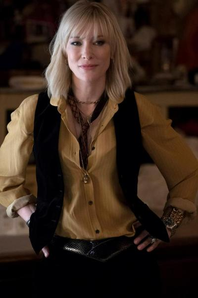 Cate Blanchett as Lou Oceans 8 FB