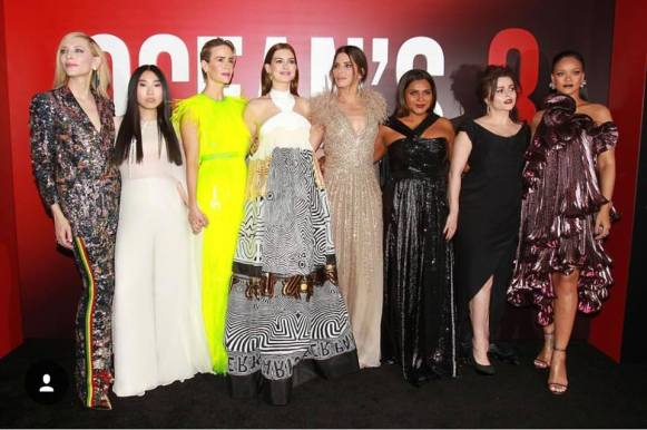 Main Cast Oceans 8