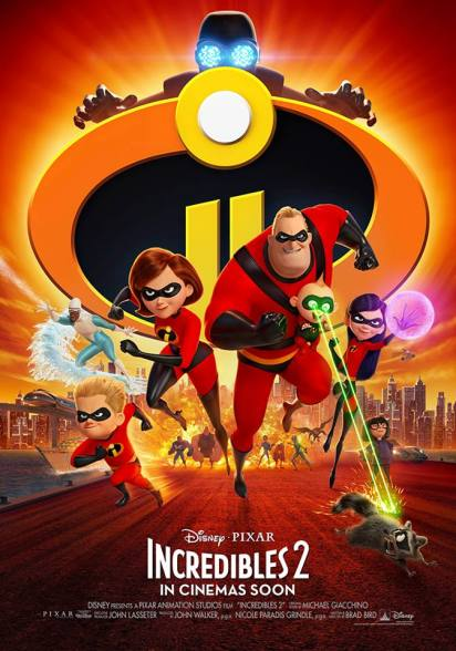 The Incredibles Walt Disney PH FB