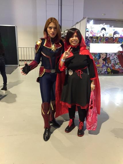 Captain Marvel and I