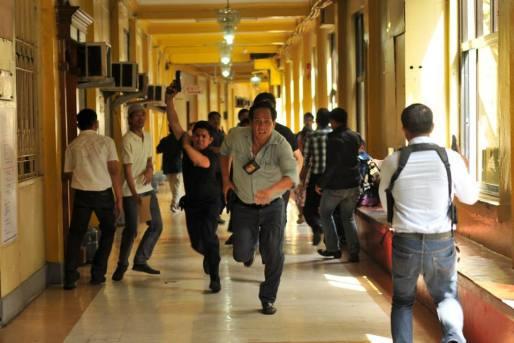Acosta running