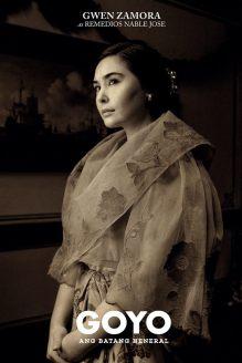 Gwen Zamora as Remedios Naples Image Source: Goyo Facebook Page