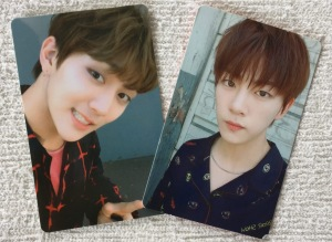 Golden Child Joochan & Jibeom WISH Photocards