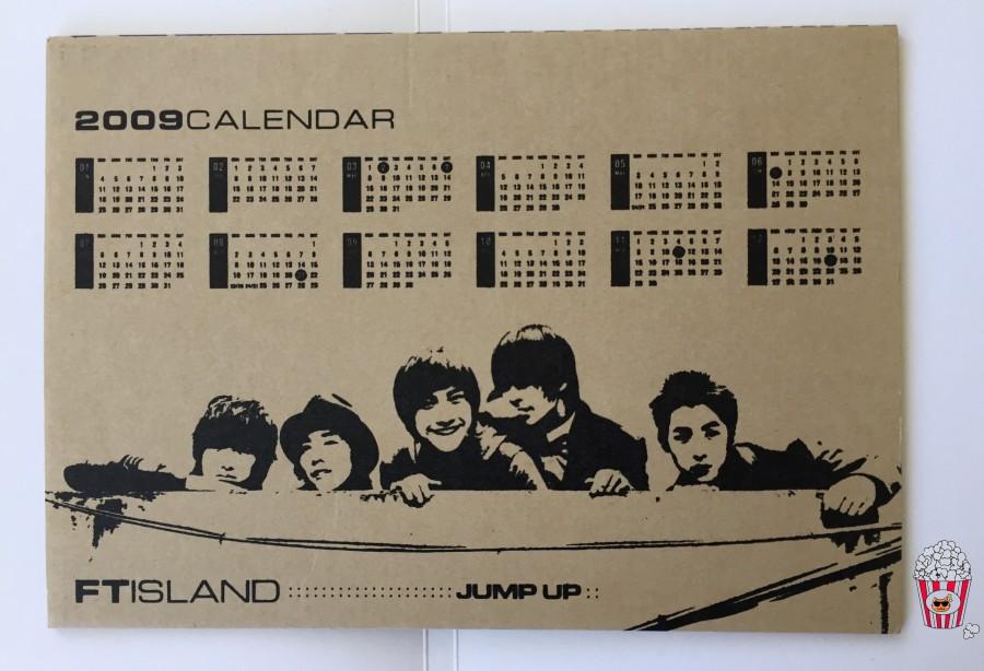 FT Island Jump Up Calendar
